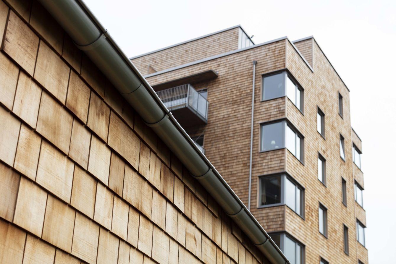 Detaljbild exteriör Frostaliden i Skövde - Fristad Bygg